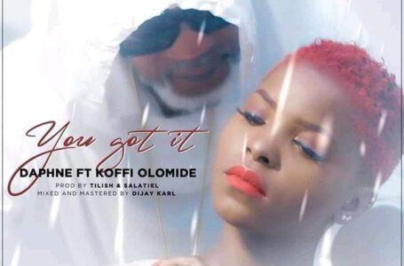 CLIP »You get it» de DAPHNE feat KOFFI OLOMIDÉ