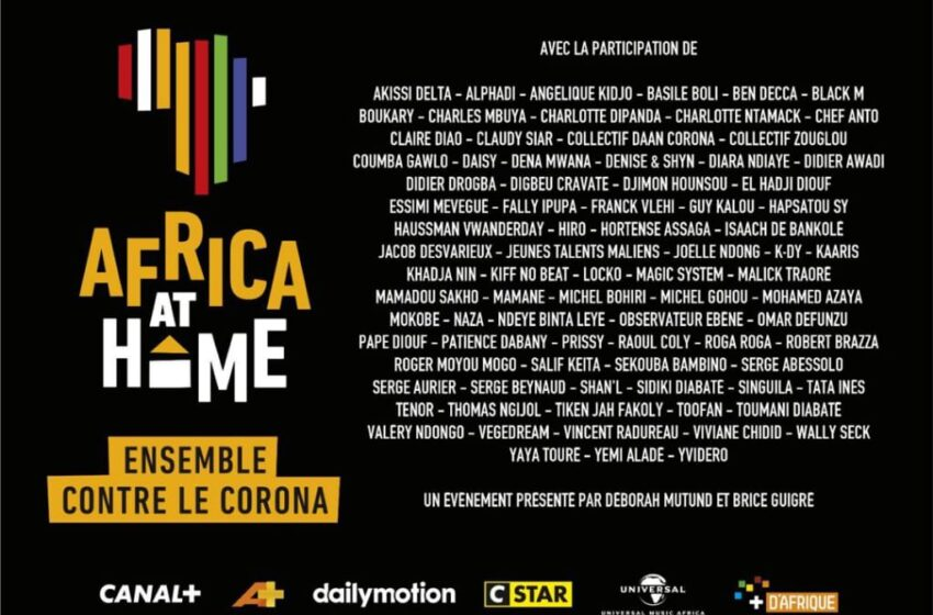 »AFRICA AT HOME  »Together against Corona